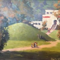 Plein Air in the Parks Reception & Sale