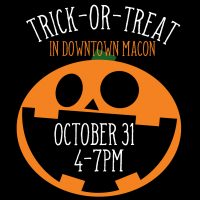 Trick-or-Treat in Downtown Macon