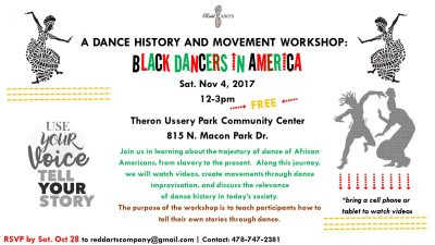 A Dance History and Movement Workshop