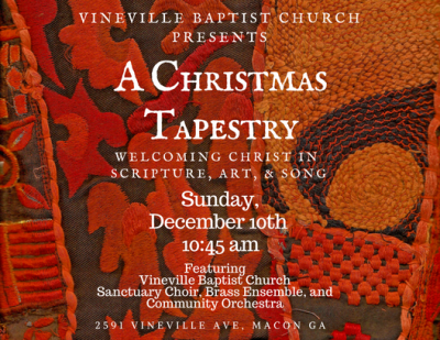 A Christmas Tapestry: Welcoming Christ in Scripture, Art, and Song
