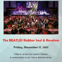 Macon Pops' Beatles Concert: Rubber Soul & Revolver