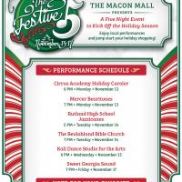 Macon Mall's The Festive Five