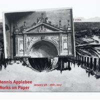 Works on Paper Reception by Dennis Applebee