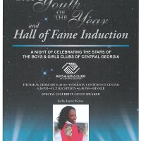 Youth of the Year & Hall of Fame Induciton
