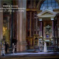 "Met Opera Live in HD ""TOSCA"" (Puccini)"