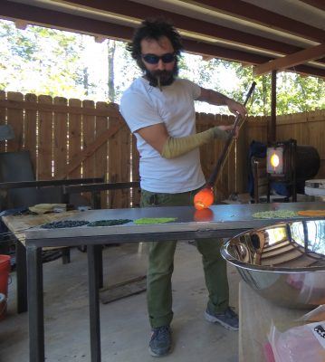 4-Week Beginner Glass Blowing Class