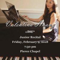 Valentina Qishan Huang Junior Piano Recital