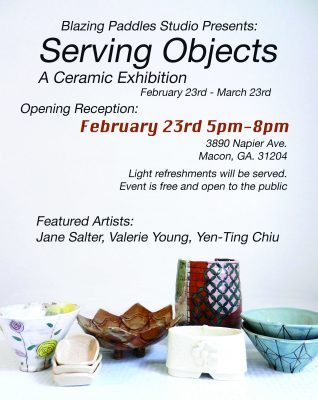Serving Objects: A Ceramic Exhibition