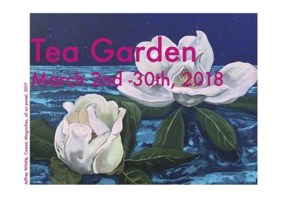 Tea Garden Exhibit and Receptions