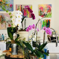 Orchids & Pottery with Mary Pinson