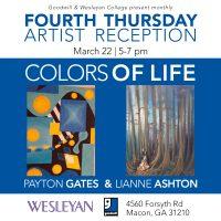 Forsyth Road Art Show: Payton Gates & Lianne Ashton