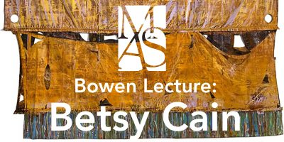 Bowen Lecture: Betsy Cain