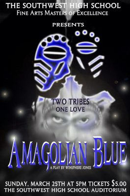 """Amagolian Blue"" a play by Winsphere Jones"