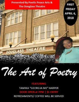 Poetic Peace Arts & The Douglass Theatre Presents...