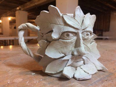 Handbuilding 1: The Face Mug