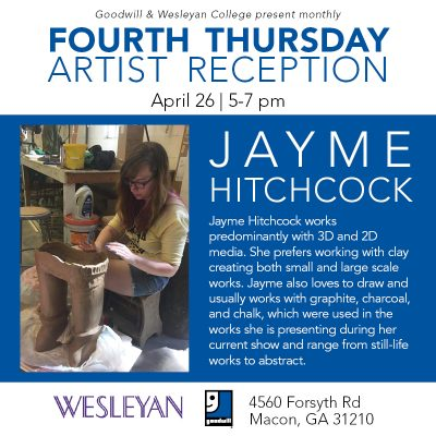 Artist Reception: Jayme Hitchcock