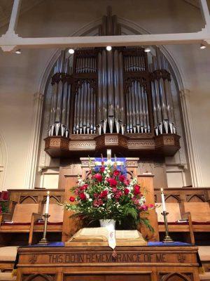 First Baptist Organ Dedication