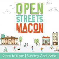 Open Streets Macon: MLK Jr Blvd + Cherry St
