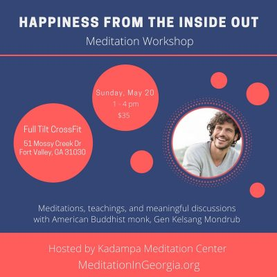 Meditation Workshop by Kadampa Meditation Center