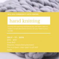 Hand Knitting Class