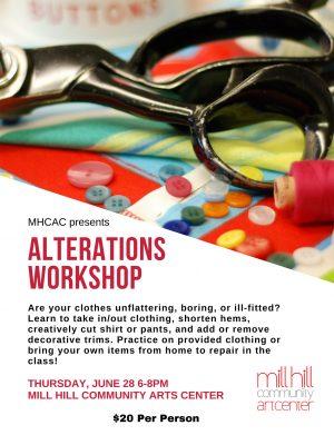 Alterations Workshop