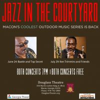 Jazz In The Courtyard featuring Baatin & Top Secret