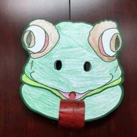 Frog Mask Kids' Craft