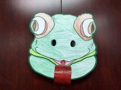 Frog Mask Kids' Craft