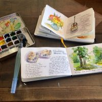 Watercolor Travel Journaling Class