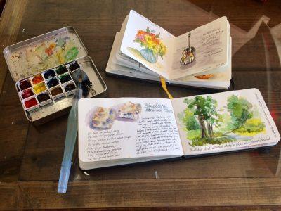 Watercolor Travel Journaling Class