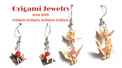 Origami Jewelry Class