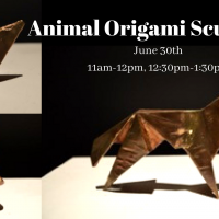Animal Origami Sculpture Class