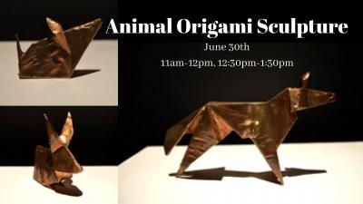 Animal Origami Sculpture Class