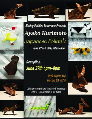 Artist Reception: Ayako Kurimoto