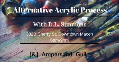 Alternative Acrylic Workshop