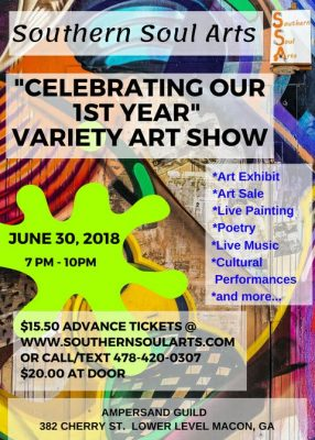 "SOUTHERN SOUL ARTS ""VARIETY SHOW"""