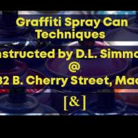 Graffiti/Spray Can Techniques