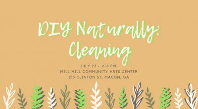 DIY Naturally Cleaning Workshop