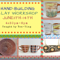 Handbuilding Clay Workshop For Teens-Adults