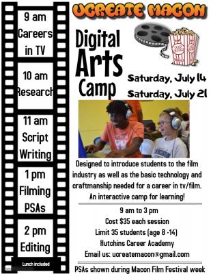 Digital Arts Camp