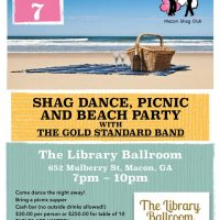 Shag Dance, Picnic and Beach Party
