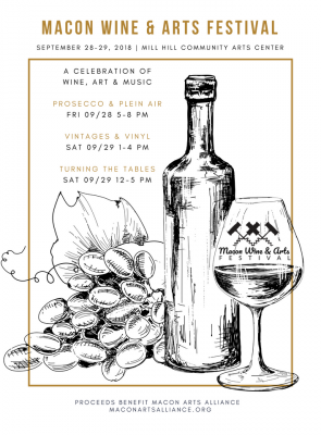 Macon Wine & Arts Festival Vintages & Vinyl Grand Tasting