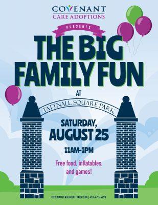 Big Family Fun at Tattnall Square Park