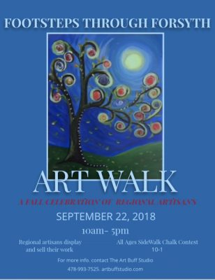Footsteps Through Forsyth Art Walk