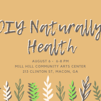 DIY Naturally Health Workshop