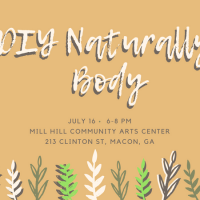 DIY Naturally Body Workshop