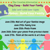 2018 Summer Clay Camp - Build Your Family
