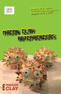 Macon Clay Artepreneurs