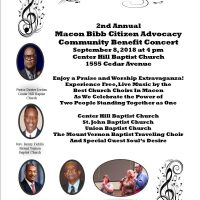 2nd Annual Macon Bibb Citizen Advocacy Benefit Concert