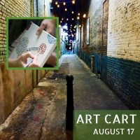 Art Cart: Pop-Up Art Studio